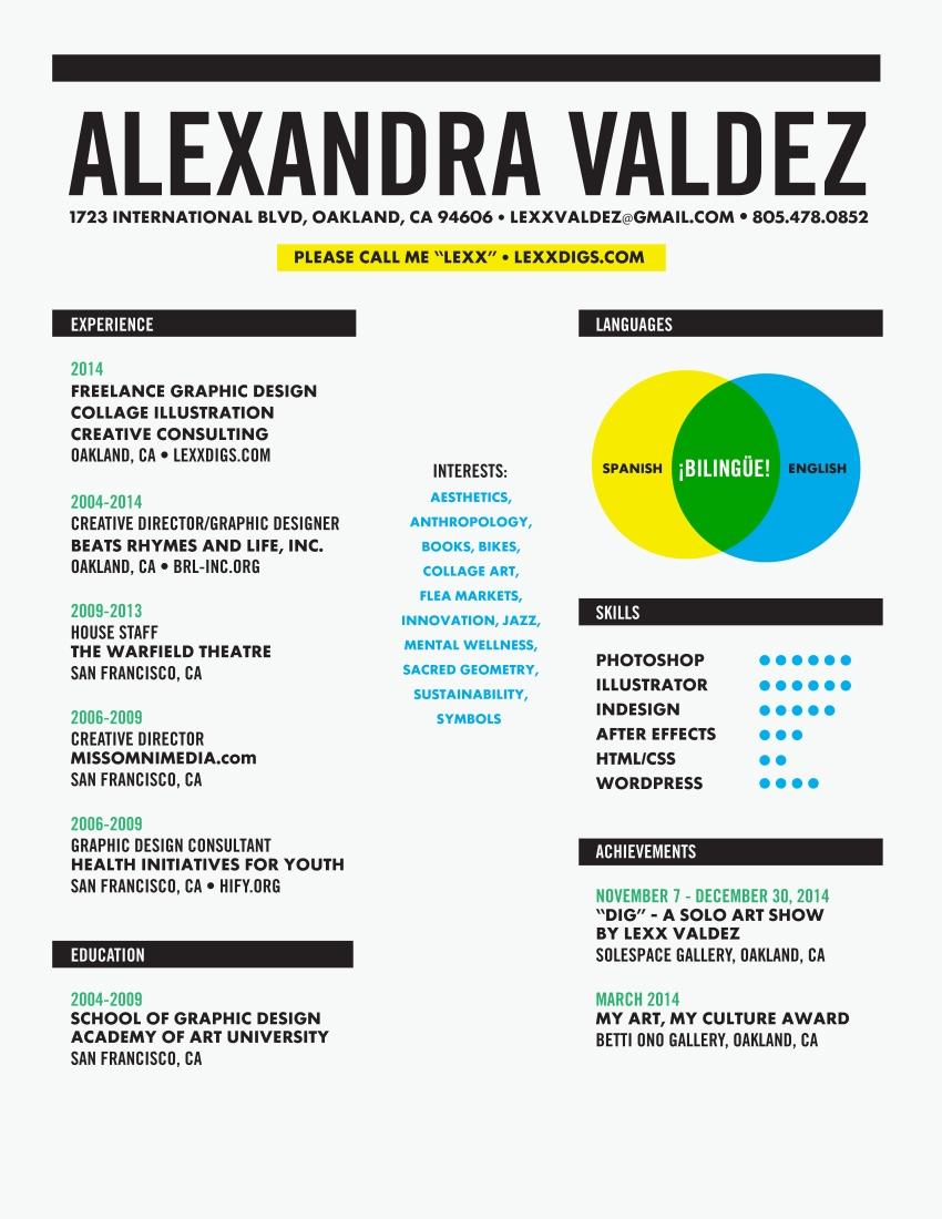 Alexandra Valdez Résumé Dec 2014